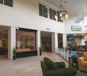 Angels Senior Living at Sarasota offers residents a luxurious assisted living experience with decor and amenities they'll love!